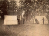 Campers and tents