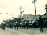 Centennial Parade, brass band