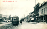 State Street with Trolley Car