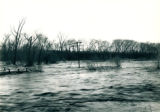 1947 Flood, flooding near Controlling Works Outlet