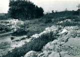 1947 Flood, material deposited in Fiddyment Creek