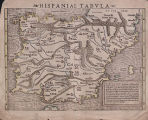 Hispaniae Tabvla (Spain and Portugal), 1540