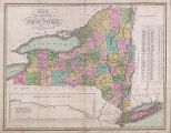 Map of the State of New York (U.S.), 1826