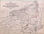 Map of Canals & Rail Roads Owned, Leased and Operated by the Delaware & Hudson Canal &...