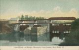 Guard Lock and Bridge, Hennepin Canal Feeder, Rock Falls (Ill.)