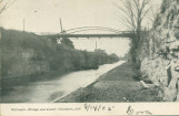 Hitchen's Bridge and Canal - Lockport, N.Y.