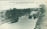 Early Scene Along the Illinois and Michigan Canal Near Lockport, Illinois