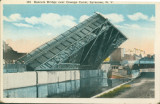 Bascule Bridge over Oswego Canal, Syracuse, N.Y.