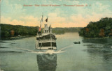"Steamer ""New Island Wanderer,"" Thousand Islands (N.Y.)"
