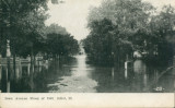 Iowa Avenue, Flood of 1903, Joliet, Ill. [1]