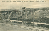 Illinois Central R.R. Bridge crossing the Ill. River & Michigan Canal at La Salle, Ill.