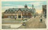 View from Union Depot, Joliet, Ill. [showing Woodruff Inn]