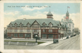 View from Union Depot, showing Woodruff Inn, Joliet, Ill.