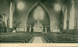 Interior of St. Patrick's Church, Joliet, Ill.