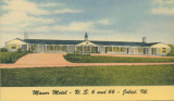 Manor Motel - U.S. 6 and 66 - Joliet (Ill.)