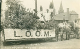 Float - July Fourth Parade, Joliet, Ill, 1911.