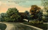 West Park, Park House and Roadway, Joliet, Ill. [5]
