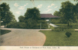 Park House at Entrance of West Park, Joliet (Ill.)