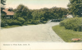 Entrance to West Park, Joliet, Ill. [2]