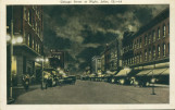 Chicago Street at Night, Joliet, Ill. [2]