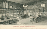 The Library; Township High School, Joliet, Ill.
