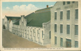 Exterior View, Dining Room and Hospital, Illinois State Penitentiary, Joliet, Ill.