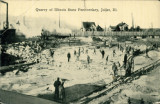 Quarry of Illinois State Penitentiary, Joliet, Ill.