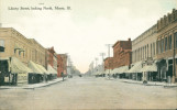 Liberty Street, Looking North, Morris, Ill.