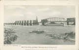 Bear Trap Dam and Gates, Drainage Canal, Lockport (Ill.)