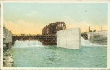 Water Flowing Through Butterfly Dam, Drainage Canal, Lockport, Ill. [1]