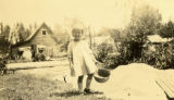 Louise Milne as a Child with Bucket