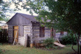 Log cabin, Public Landing, Lockport, IL (2)