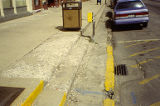 Deteriorating sidewalk on State Street, Lockport, IL
