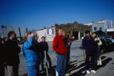 Outside the Design Workshop with large group of people (3)