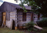 Log cabin, Public Landing, Lockport, IL (1)
