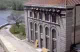 Hydraulic building at Lockport Lock, Ship and Sanitary Canal, Lockport, IL