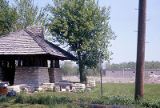 Picnic shelter on Canal Street, Lockport, IL