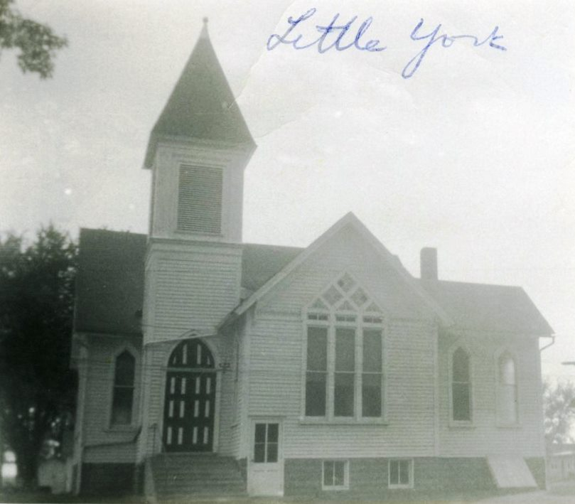 Closed Church Records from Little York UMC