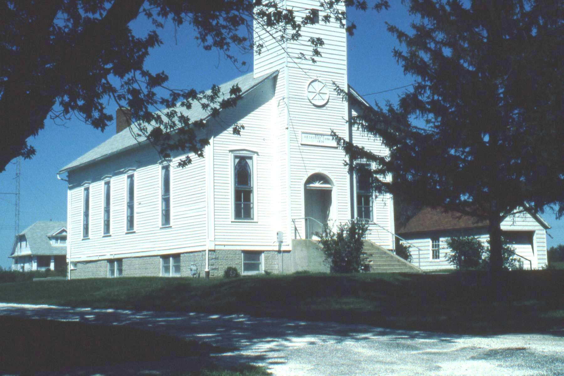 Closed Church Records from Basco UMC
