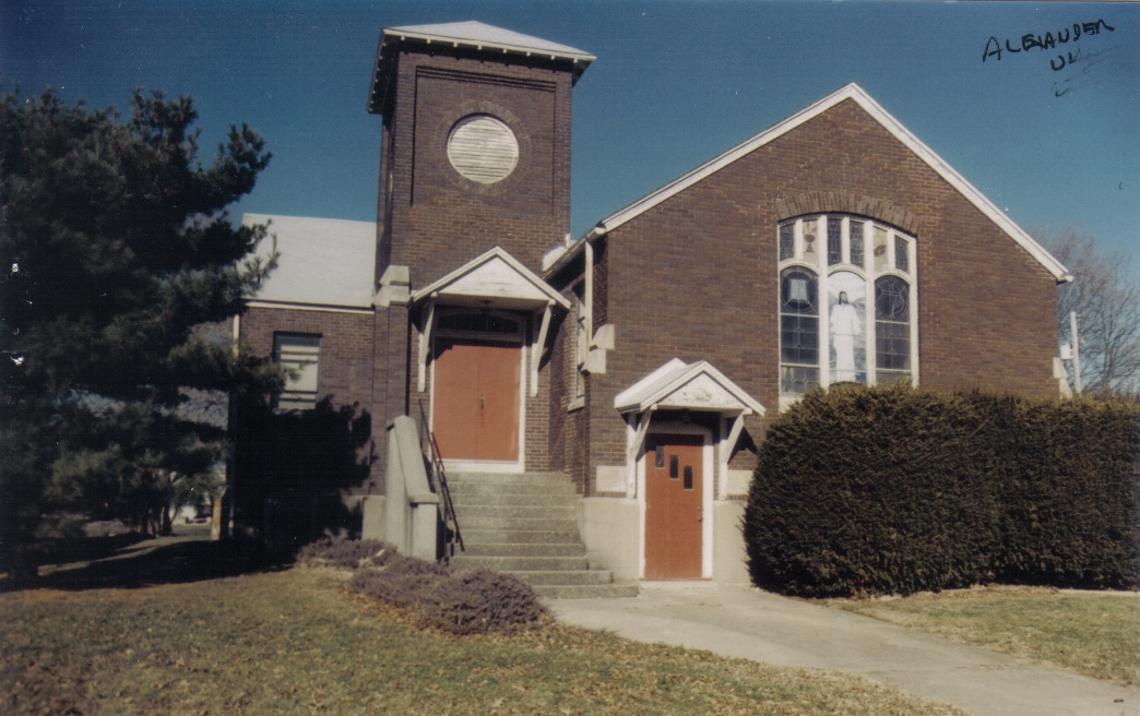 Closed Church Records from Alexander UMC