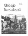 Chicago Genealogist Vol. 11, no. 1