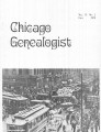 Chicago Genealogist Vol. 9, no. 1