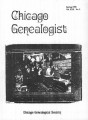 Chicago Genealogist Vol. 30, no. 3