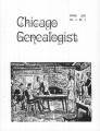 Chicago Genealogist Vol. 10, no. 3