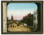 World's Columbian Exposition lantern slides: Midway Plaisance, View South