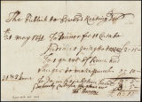 The publick invoice to Edward Keating