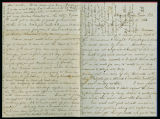 Henry Rice letter to family,...