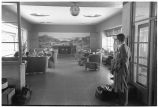 La Crosse, Wis. 3. Waiting room of station