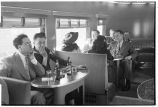 Minnesota. 1. Scene in buffet car of morning Zephyr en route to Minneapolis