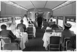 Minnesota-Dining car of morning Zephyr en route to Minneapolis